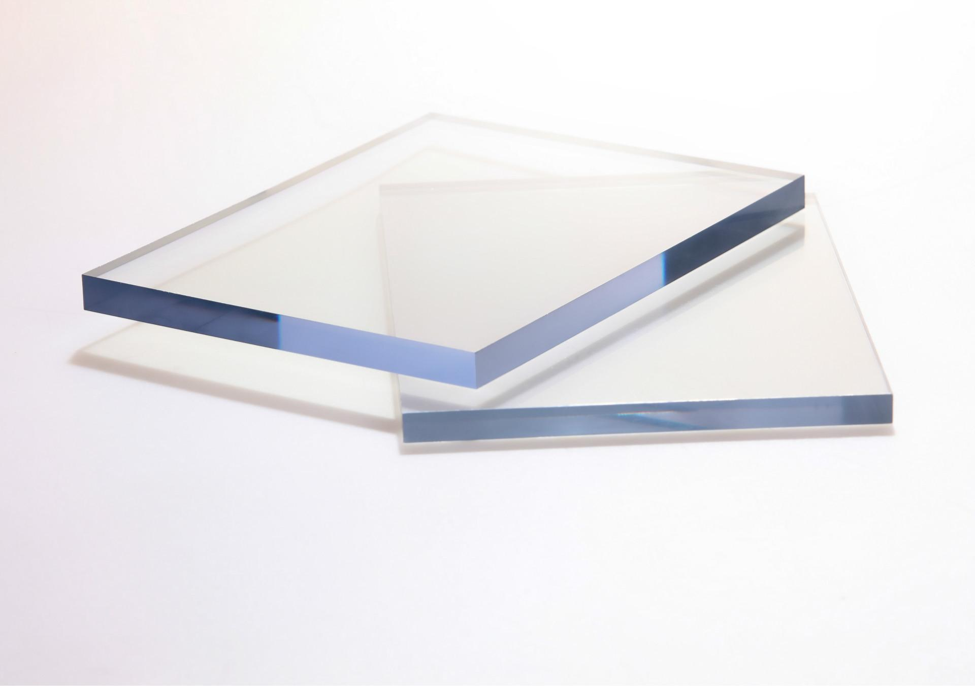 Unbreakable Crystal Clear Polished Surface UV Stabilized Polycarbonate Sheet Panel